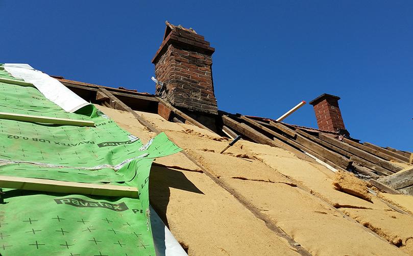 Ökologische Dachsanierung Wohnhaus (Denkmal)